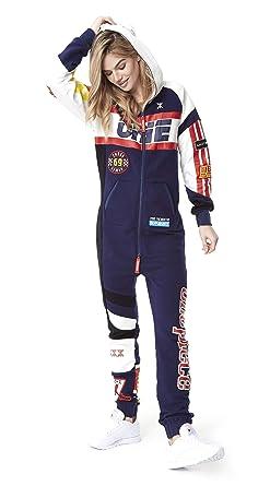 super mignon qualité supérieure nouvelle version One piece Unisex Jumpsuit Moto Combinaison Femme