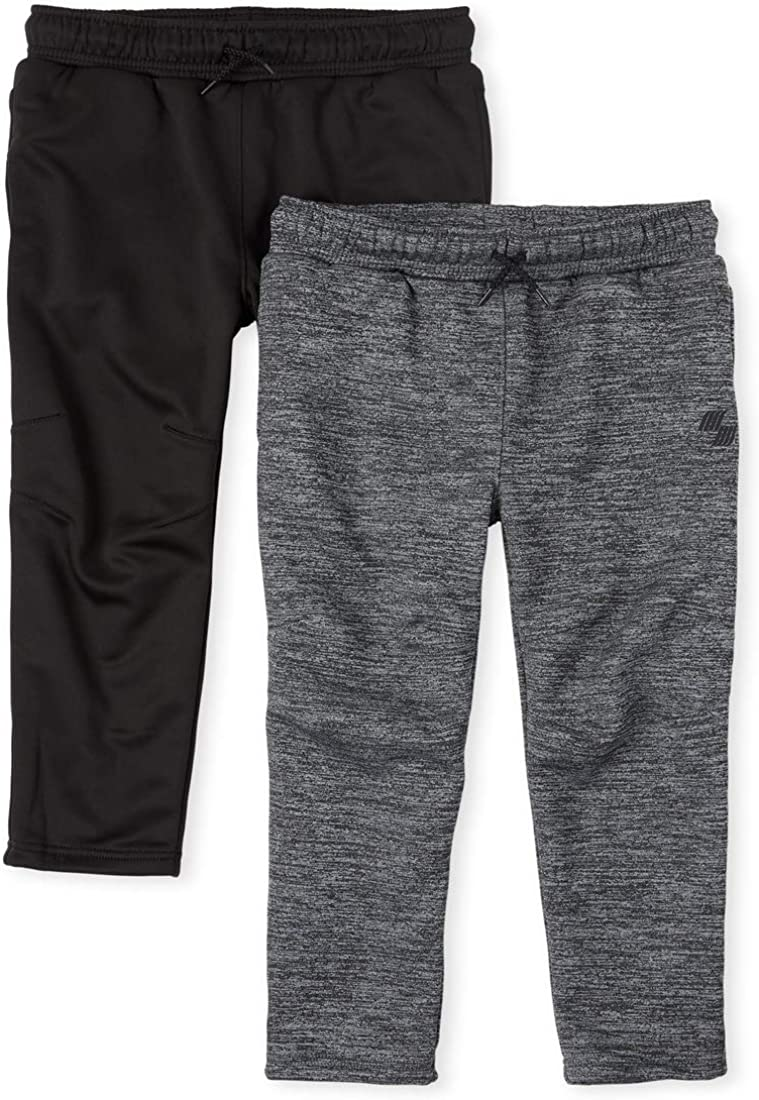 The Children's Place Boys' Mix And Match Performance Pants 2-Pack