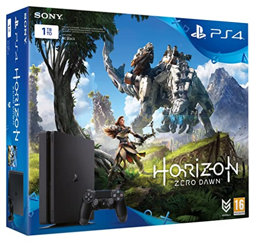 PS4 1TB D Chassis + Horizon Zero Dawn + PS Plus 3 Mesi ...