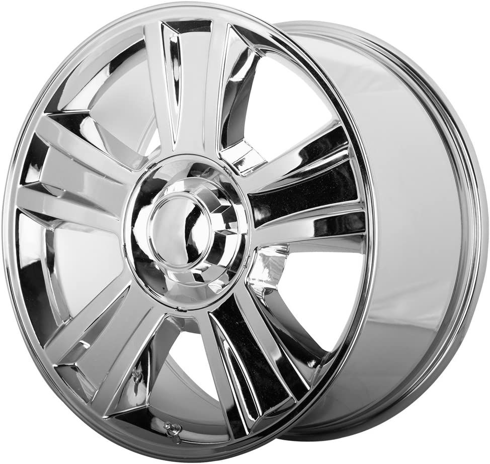 hexavalent compounds 20 x 8.5 inches //6 x 78 mm, 31 mm Offset OE CREATIONS PR143 Wheel with Chrome and Chromium