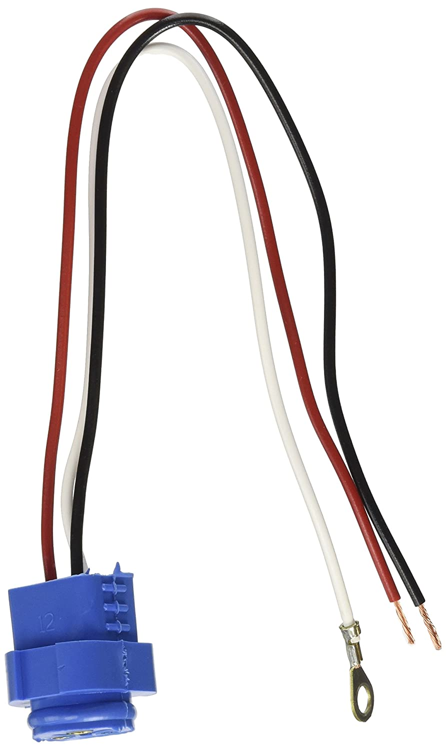 Grote 67002 11 Long Stop Tail Turn Three Wire Plug In Pigtail Wiring Pigtails For Male Pin Lights Automotive