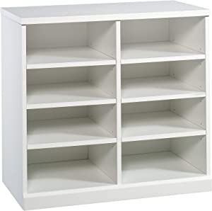Sauder Craft Pro Series Open Storage Cabinet, White finish