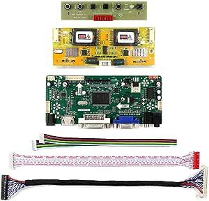 Yadianna LCD Driver for 17 M170En05 Hdmi Dvi Vga Audio LCD Controller Board 4Ccfl Inverter Board M170En06 1280X1024 Resolution