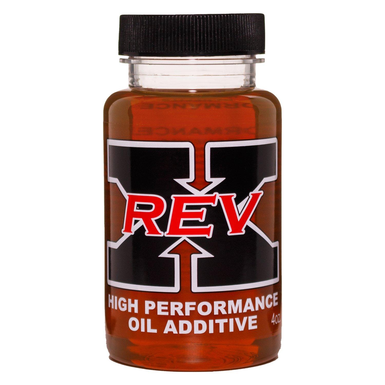 Amazon.com: REV-X High Performance Oil Additive Bottle - 4 fl. oz. (Retail Box): Automotive