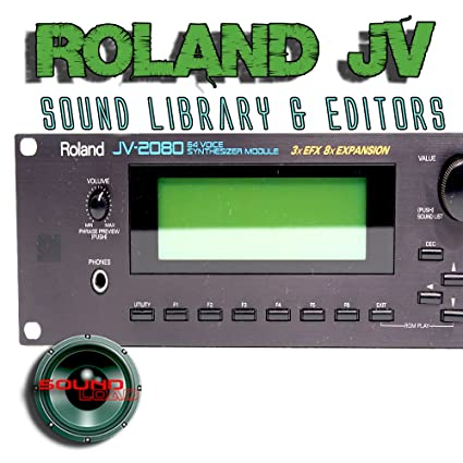 Amazon com: for ROLAND JV-1010/1080/2080 Factory & New Created Sound