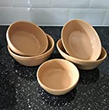 Superwhite Porcelain Crockery Sets, Traditional Brown Round + Oval Pie Bowl / Dish, Singles or Sets, 15cm-20cm (Oval 18.5cm x Qty 6)