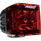 Rigid Industries 32185 D-Ss Series Light Cover, Red