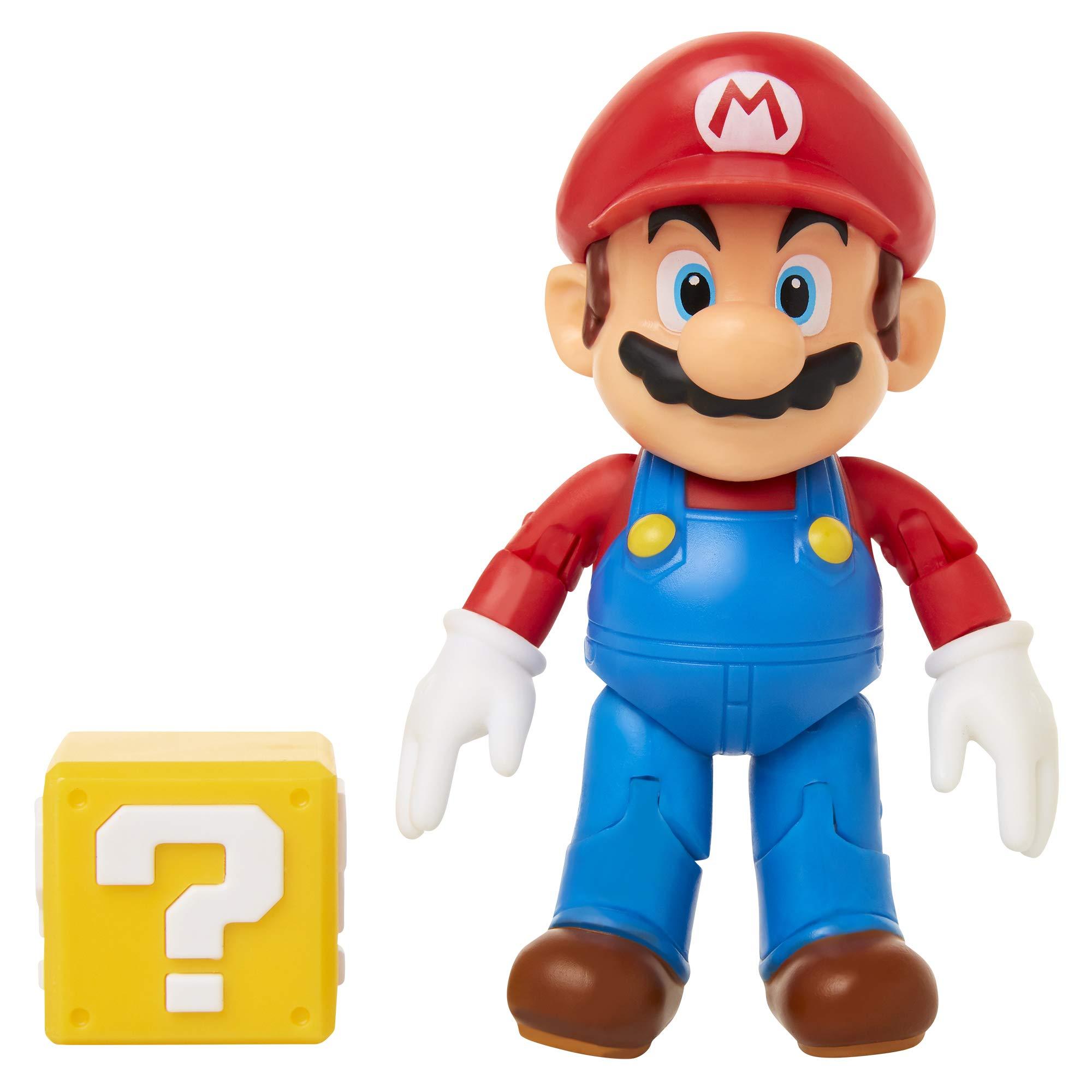 """SUPER MARIO Nintendo 4"""" with Question Block"""