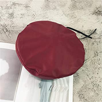 Amazon.com : Pu Leather Beret Hats For Women Winter Flat Cap Female Boina Feminina Fashion Autumn Winter Beret Cap Bone Gorras Painter wine red : Beauty