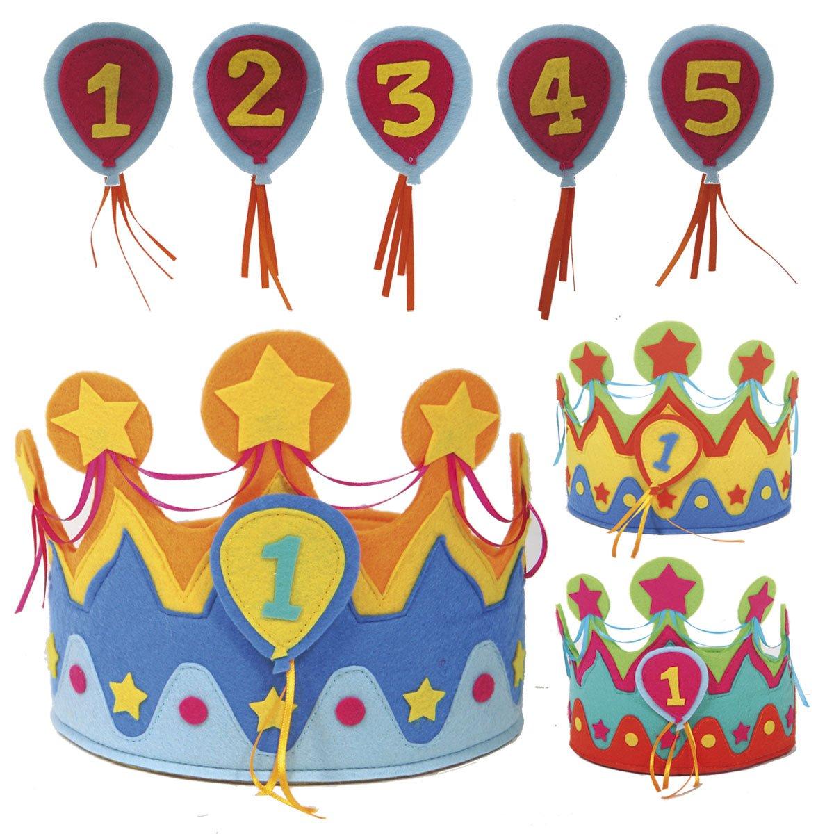 Kinder Geburtstags Krone Für Jungs U0026 Mädchen Mit Auswechselbaren Zahlen Von  1   5 // Geburtstag Verkleidung Verkleiden Boy Girl Kinder Kindergeburtstag  ...