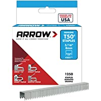 Deals on Arrow Fastener 505 Genuine T50 5/16-Inch Staples, 1,250-Pack