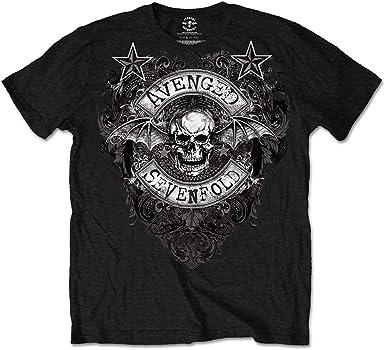 Avenged Sevenfold Stars Flourish Camiseta Manga Corta para Hombre