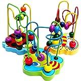 FIRLAR® Jouet Jeu eveil-12 Boules Circuit de Motricite en bois pour bébé by seguryy