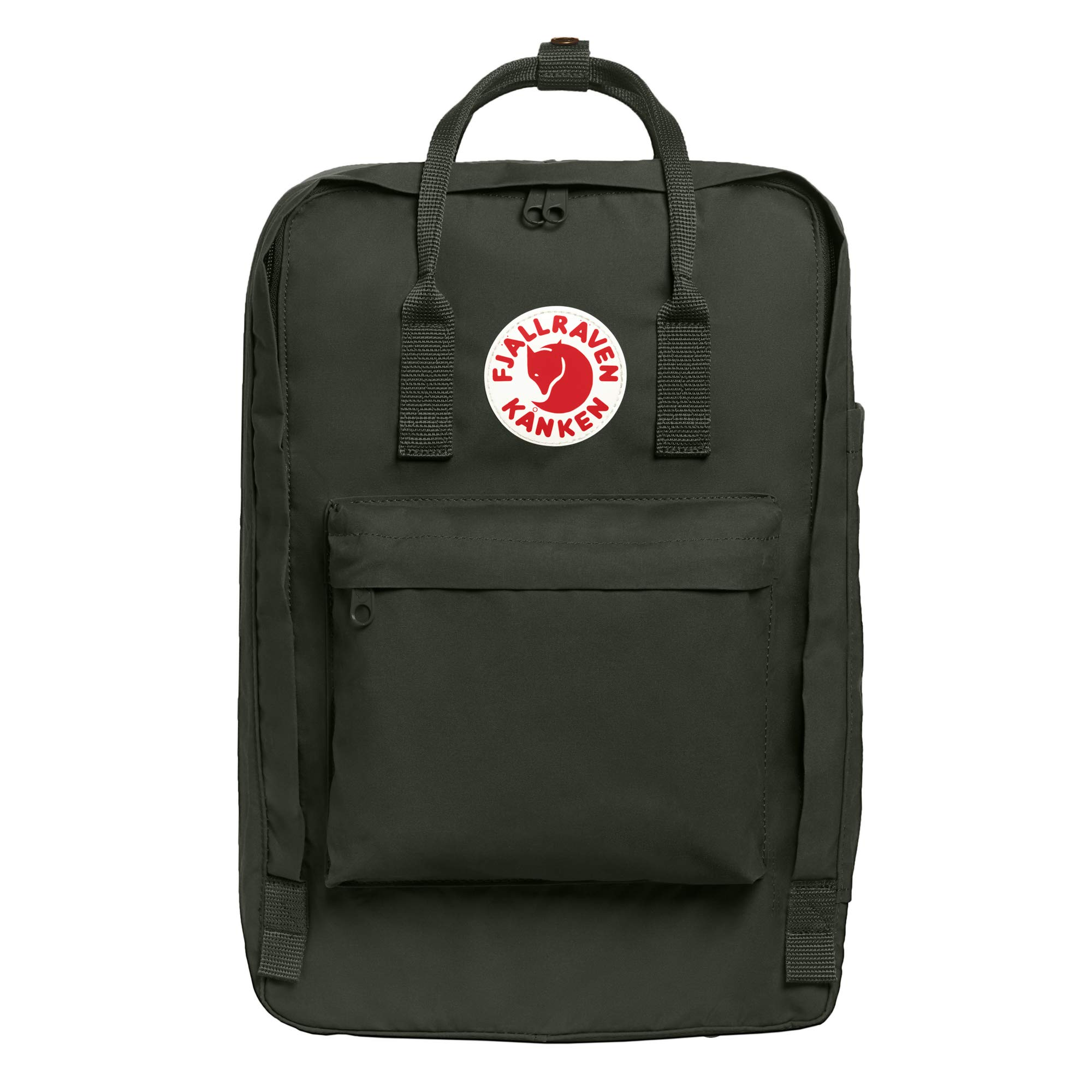 Fjallraven - Kanken Laptop 17'' Backpack for Everyday, Deep Forest