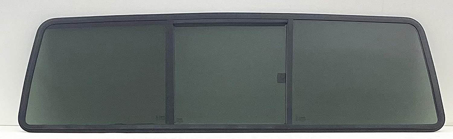 NAGD Compatible with 1973-1996 Ford F-Series Pickup Super Duty F100 F150 F250 F250HD F350 F600 F700 F800 2 /& 4 Door Models Rear Sliding Window Back Privacy Glass 3 Panel Gasket Not Included