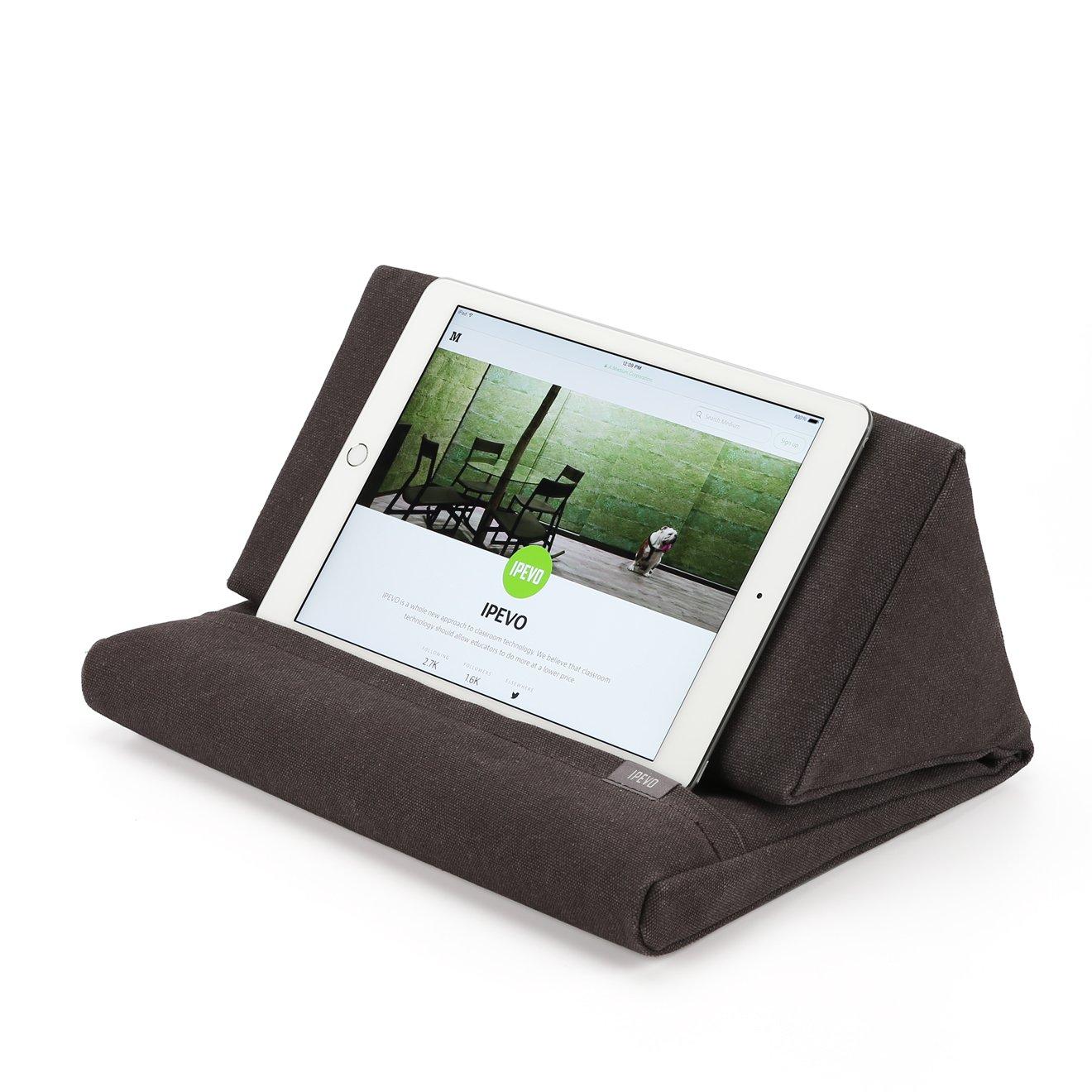 Ipevo PadPillow Stand for iPad Air & iPad 4/3/2/1Nexus/Galaxy - Charcoal Gray (MEPX-07IP)