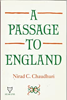 PASSAGE TO ENGLAND Lives And Letters
