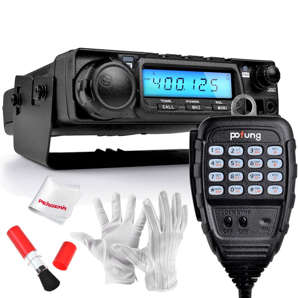 BaoFeng BF-9500 UHF 400-470MHz 45W/25W/10W Mobile Transceiver Vehicle Radio by BaoFeng