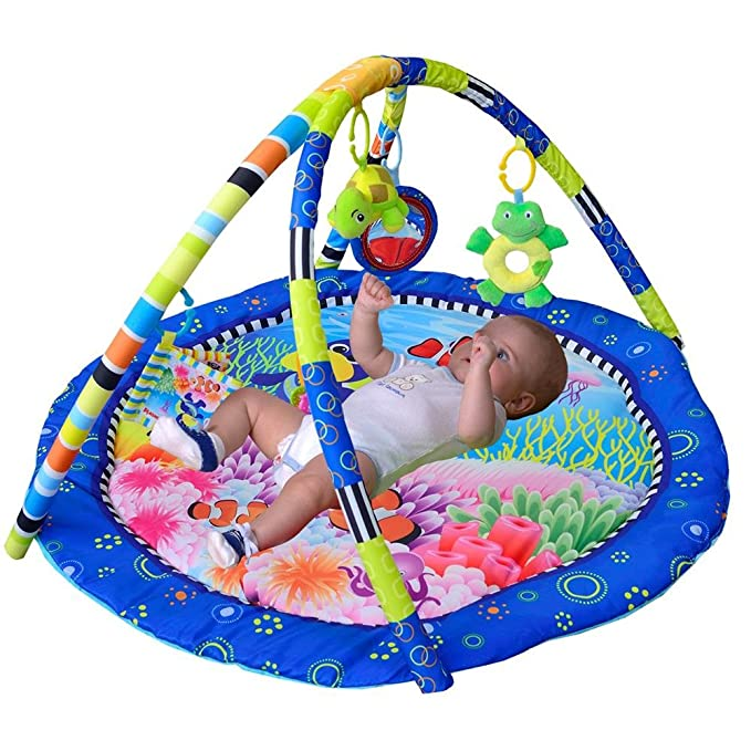 Amazon.com: LLZJ Baby Activity Gym Mat Toys Centre Large Play Skip ...