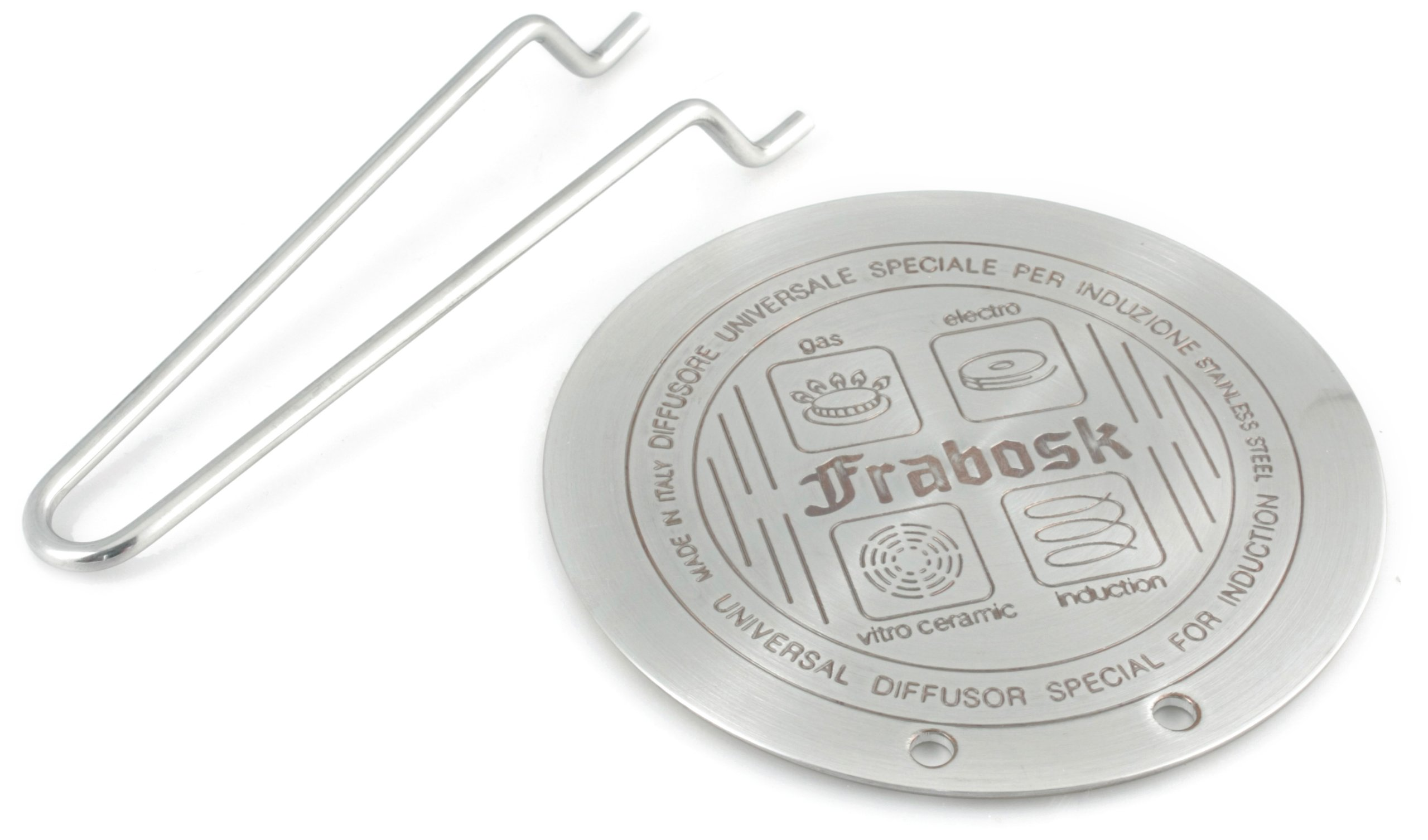 Frabosk 8 3/4'' Induction Heat Diffuser Plate