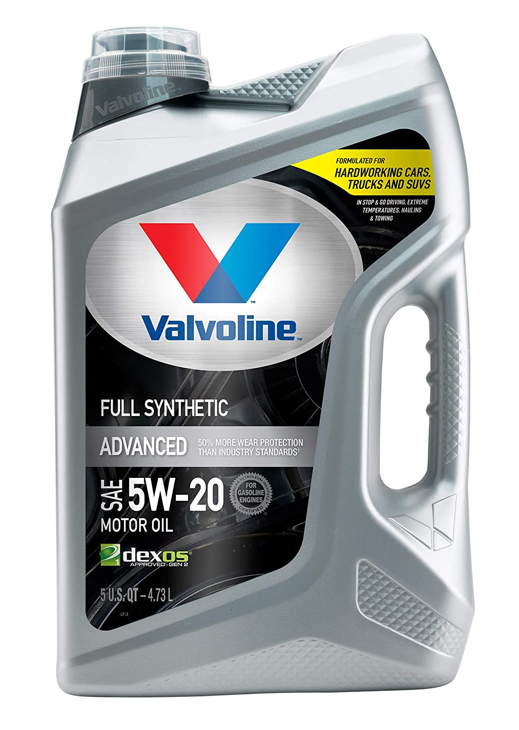 ValvolineAdvanced Full Synthetic SAE 5W-20 Motor Oil 5 QT