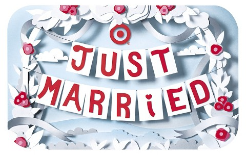 Just Married Banners Gift Card : Target