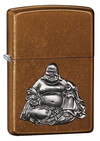 Zippo Buddha Lighter - Mechero, color beige: Amazon.es: Deportes y aire libre