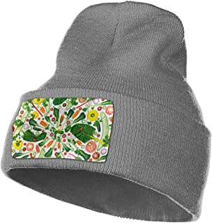 Beanie Hats Fruits Knit Hedging Cap Slouchy Winter Warm Skull Caps For Men Womens