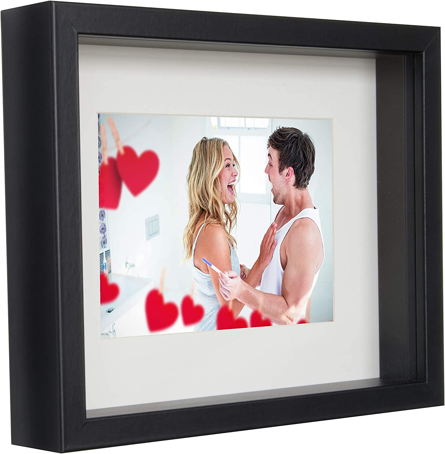 Amazon Com Bd Art 8x10 20 X 25 X 4 7 Cm Black Shadow Box 3d
