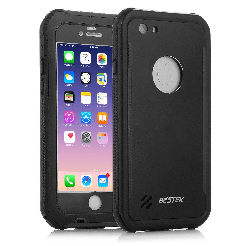 BESTEK IP68 Funda Impermeable iPhone 7, Carcasa Sumergible con Completo Acceso, Waterproof Case Protectora de Cubierta a Prueba de Agua Polvo Nieve ...