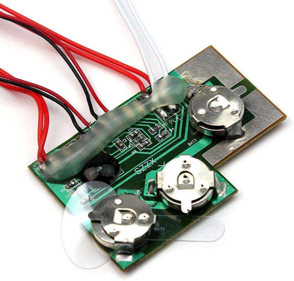 Steuertaste 10S Musik Sound Modul Decoder Aufnahme Soundmodul mit Lautsprecher
