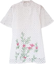 4d9245928cf6 Goodnight Macaroon Priya  Embroidered Floral Eyelet Dress
