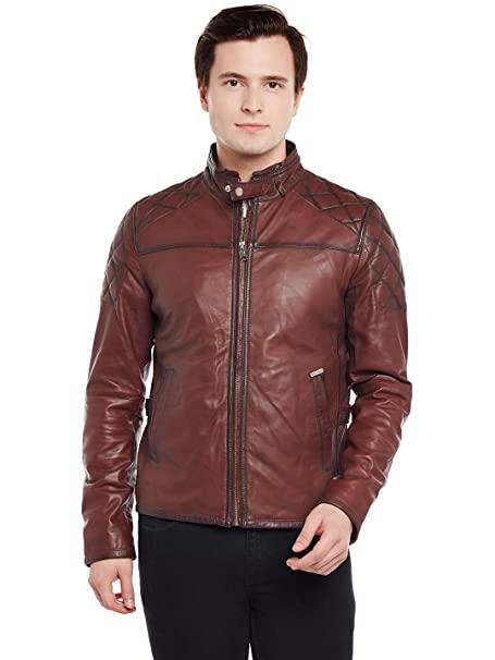 d2192f27d0e PEPE JEANS BROWN SOLID QUILTED JACKET price at Flipkart