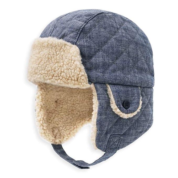 ac17a857f7cde keepersheep Baby boy Ushanka Earflap Winter Trooper hat Cap