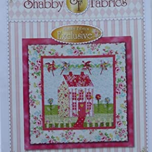 Pattern~Little Garden House in Spring~Wall Hanging Pattern by Shabby Fabrics~ 41