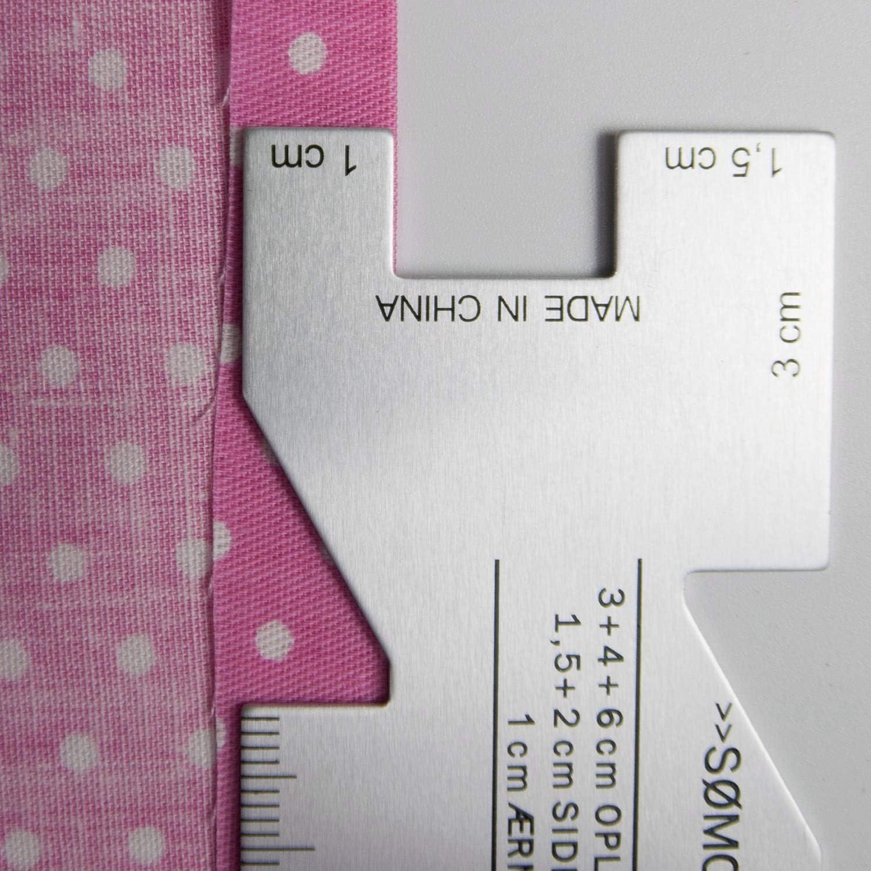 Cavis Son/óMetro Costura Acolchado Reglas Medidor de Medici/óN para Manualidades de Costura Costura Medici/óN Medidor Regla