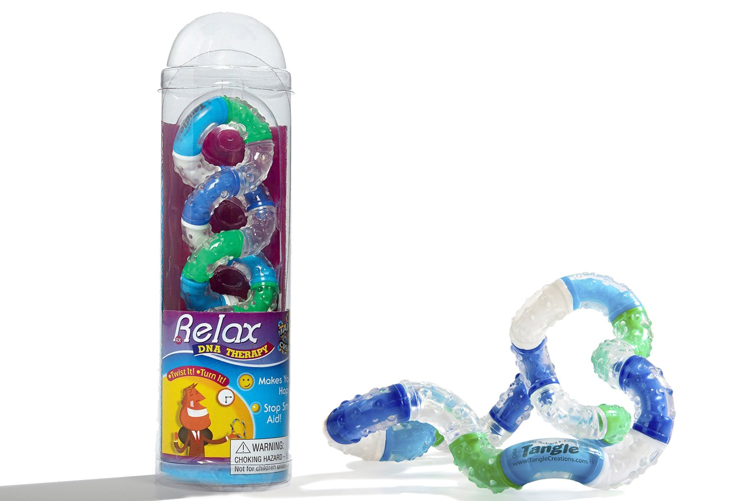 Tangle Therapy Relax for Hand and Mind Wellness (color may vary) by Tangle (Image #1)