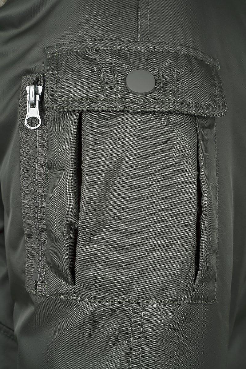 Urban Classics Hooded Heavy Pilot Bomber Fur Winter Jacket