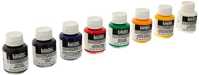 Liquitex Professional Soft Body Acrylic Paint Set Review
