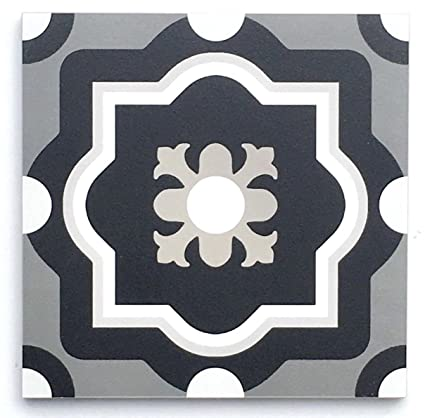 fb37ff59d39 Amazon.com  8x8 Mambo Italiano No. 6 Porcelain Made in Italy Tile By ...