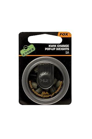 Fox Edges Kwik Change Pop Up Weights SA Blei Bleie Angelbleie Karpfenbleie