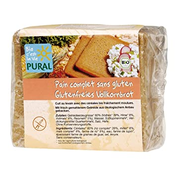 Sin gluten grano entero-cortar el pan: Amazon.es: Bebé