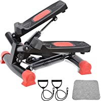 StormHero Exercise Stepper, Mini Aerobic Stepper Machine with Display, Fitness Stepper Including Resistance Bands…