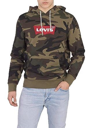 Levi's Herren Modern Hm Hoodie Kapuzenpullover