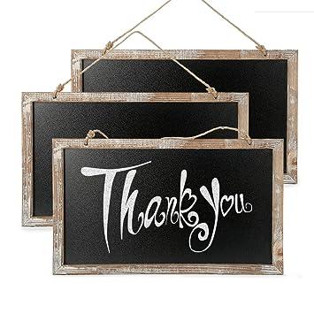 Amazon.com: Cade Vintage Framed Kitchen Chalkboard - Decorative ...