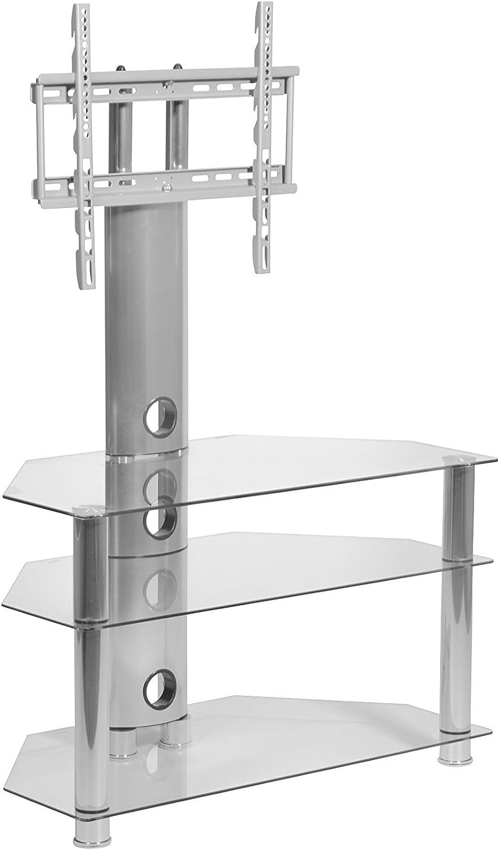 MMT Cantilever Soporte de cristal y metal para televisores, televisores LCD, pantalla plasma y televisores desde 26 hasta 50 pulgadas, robusto, fácil ...