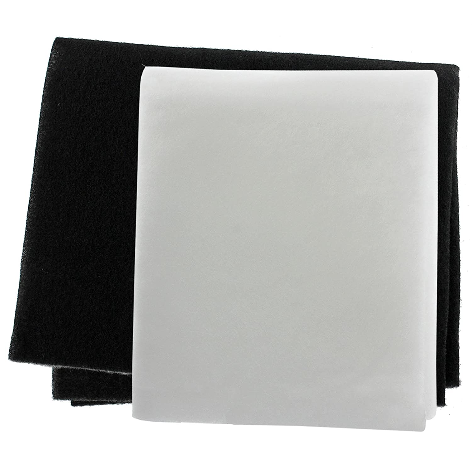 SPARES2GO Cooker Hood Grease Filter Kit for Necht Extractor Fan Vent (Pack of 2 Filters, Cut to Size)
