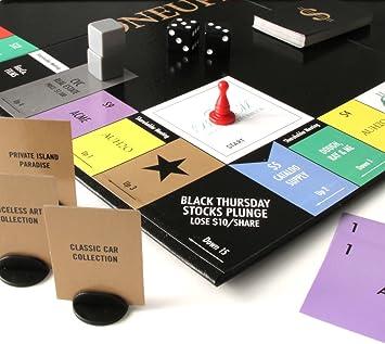 ONEUPMANSHIP - Juego de Mesa de Estrategia de Trato Real para el Siglo XXI - Una Aventura capitalista Malvada e Inteligente: Amazon.es: Juguetes y juegos