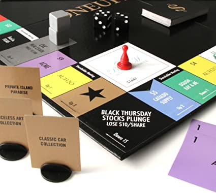 Amazon Com Quarantine Got You Stir Crazy Oneupmanship Is An All New Strategy Board Game That S The Perfect Cure For Lockdown Cabin Fever Don T Stay Home Without It Toys Games