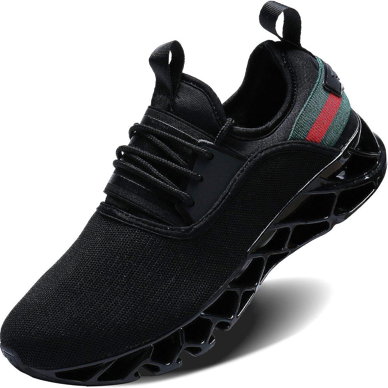 save off 729c2 51017 Amazon.com   Wonesion Mens Walking Tennis Shoes Blade Slip on Casual  Fashion Sneakers   Walking